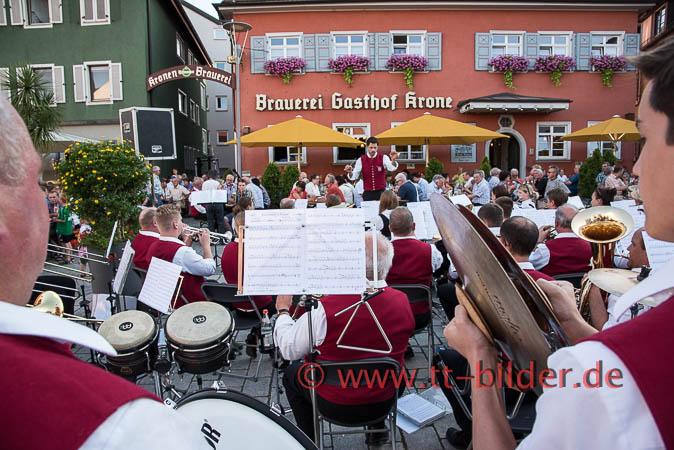 Tettnanger Platzkonzerte auf dem Bärenplatz - 15. Juli MK Obereisenbach